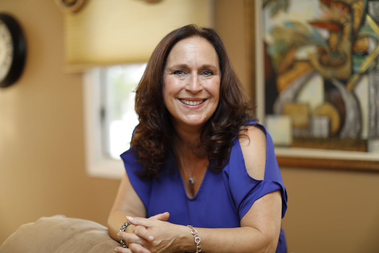 Here is a photo of Nancy's friendly face. She's ready to help with your business today!