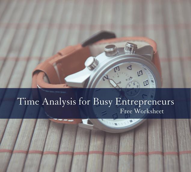 Time Analysis for Busy Entrepreneurs free worksheet