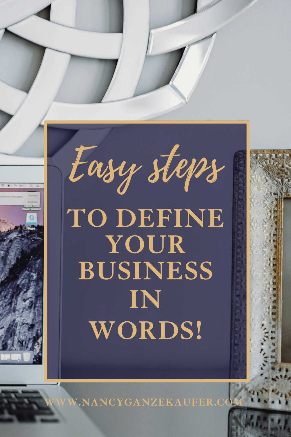 Easy steps to define your business in words.