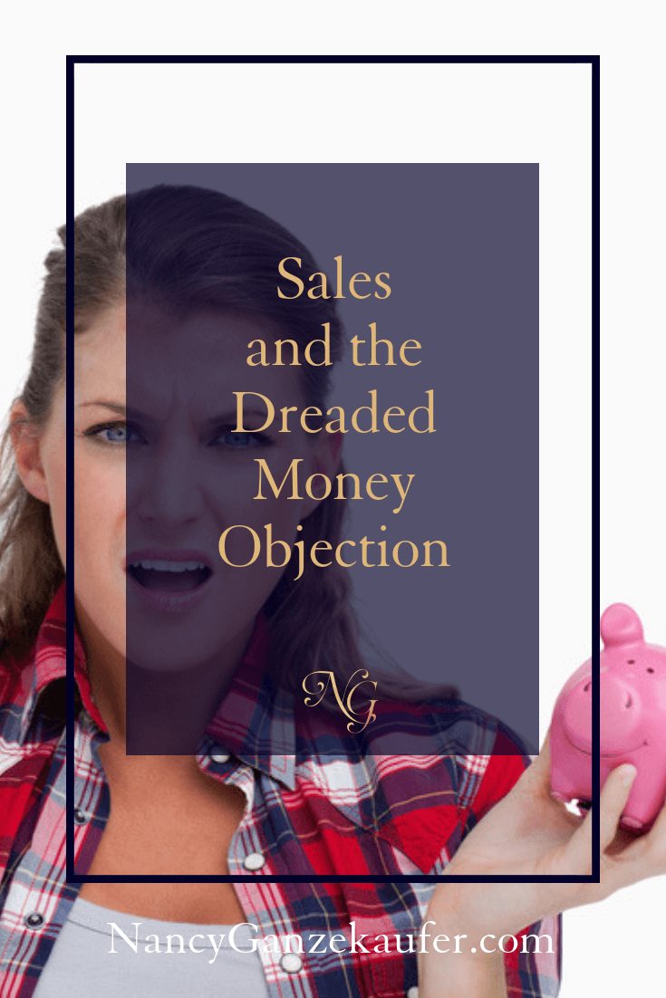 Sales and the dreaded money objection with clients.