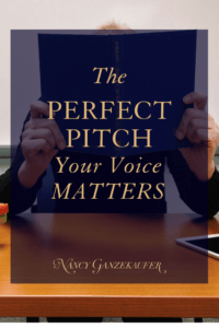 The perfect pitch -your voice matters. If I start giving a presentation in a blah voice with no enthusiasm, how many people would make it to the end?
