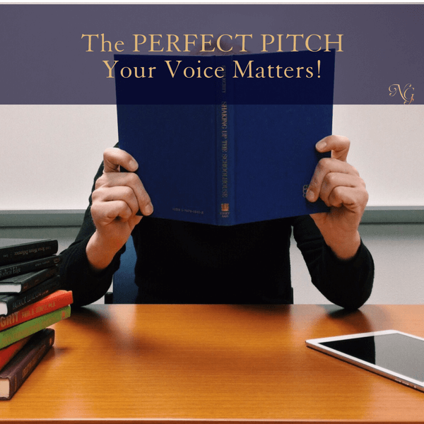 The Perfect Pitch – Your Voice Matters!