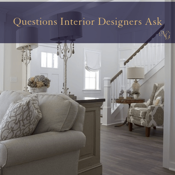 Interior Designer Questions