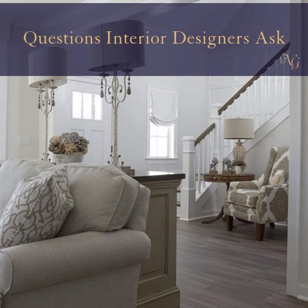 Interior Designer Questions