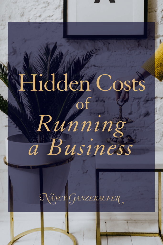 Hidden costs of running a business and pricing services. These business strategies and tips are for all entrepreneurs, interior designers and creative entrepreneurs