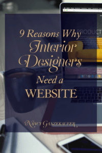 9 reasons why interior designers need a website. If you are just launching your interior design business, or if you've been in the game for decades, creating a website is critical to your ongoing success.