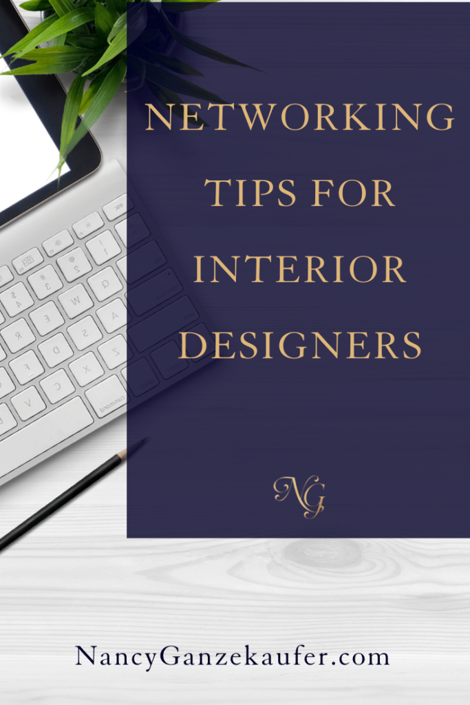 Networking tips for interior designers. #businesstips #designers #networking