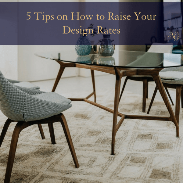 5 Tips On How To Raise Your Design Rates