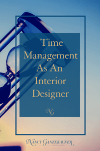 Evaluate your time management as an interior designer for the important reboot in business productivity, growth and success.