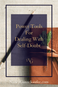 """Power tools for dealing with self-doubt that paralyzes you and keeps you from taking the steps to the """"big plans"""" in your life."""