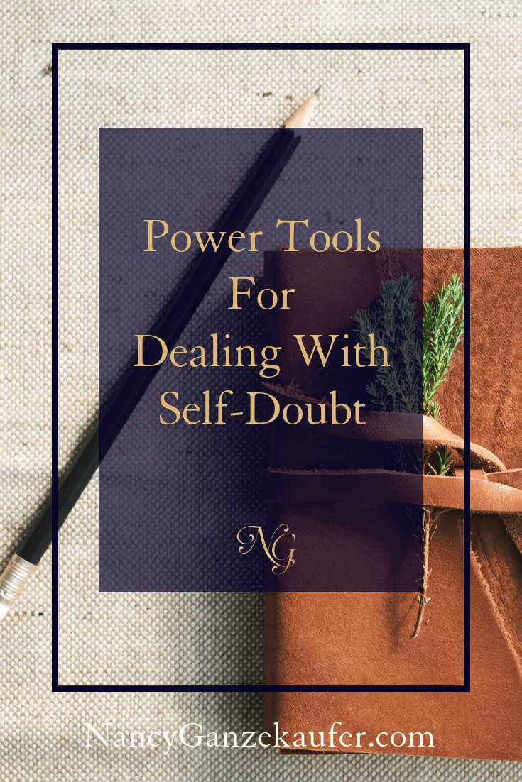 "Power tools for dealing with self-doubt that paralyzes you and keeps you from taking the steps to the ""big plans"" in your life."