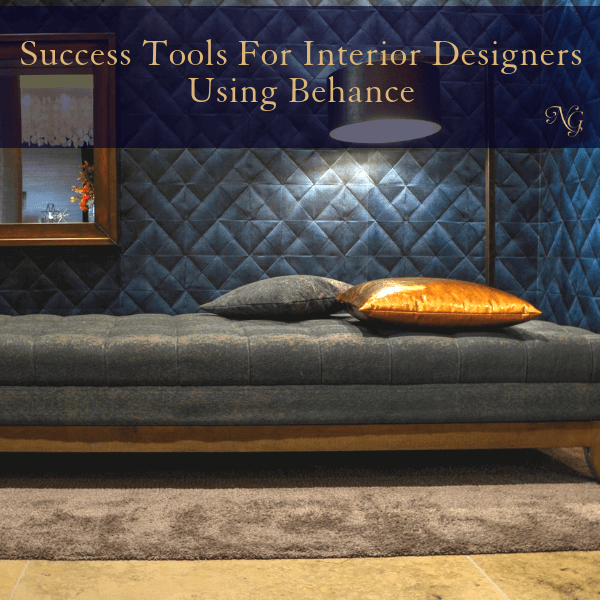 Success Tools For Interior Designers Using Behance