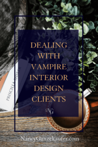 Dealing with interior design clients who can drain your creative energy and make you feel like they're out to get you but let me coach you on how to handle such clients.