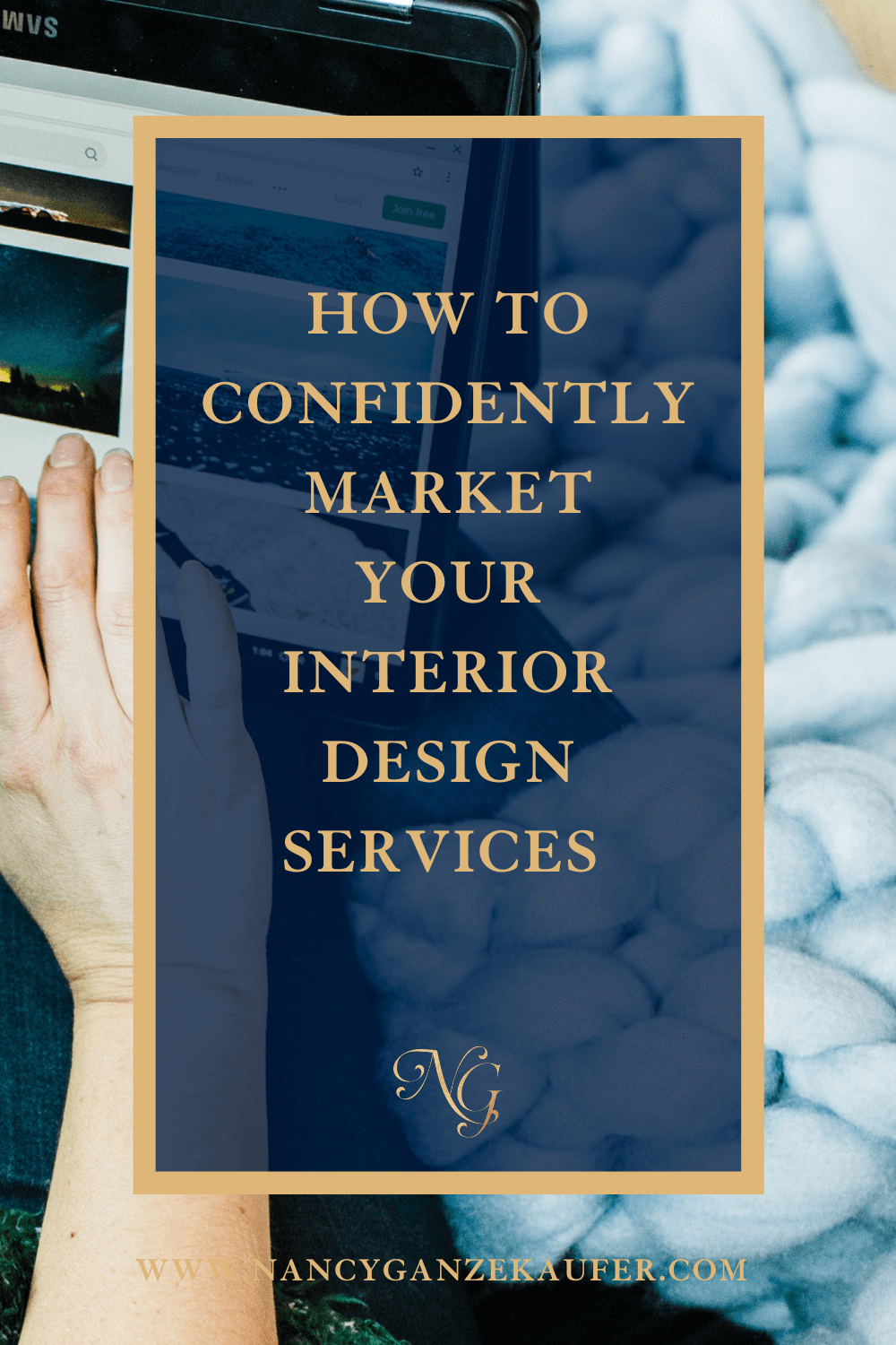 How to confidently market your interior design services.