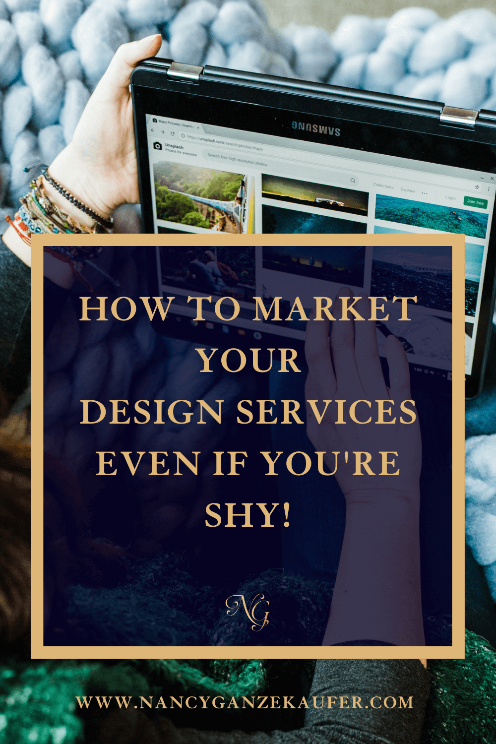 How to market your design services even if you're shy.