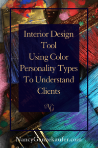 Interior design tool using color personality types to better understand and get more design clients for small business growth.