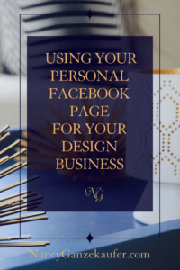 The secret to using a personal Facebook page for your design business is that it's a great place to start growing your network.