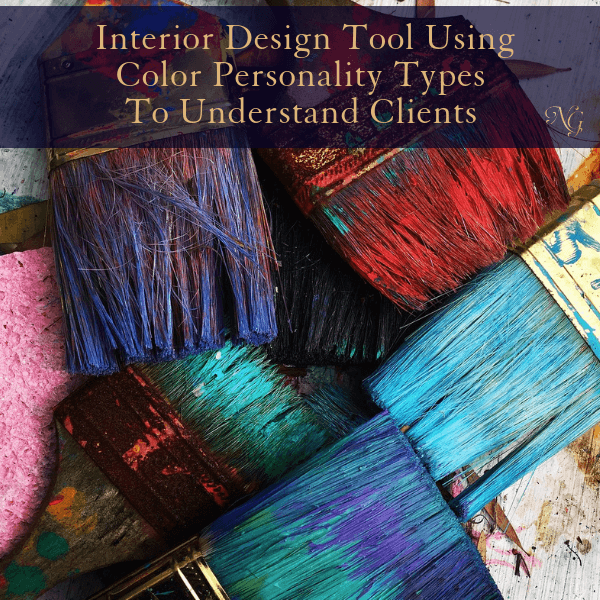 Interior Design Tool Using Color Personality Types to Understand Clients