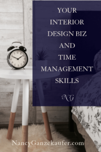 Your interior design biz and time management strategies help in managing your time effectively and confidently.  #managementstrategy #timemanagement #priorities #designbiz