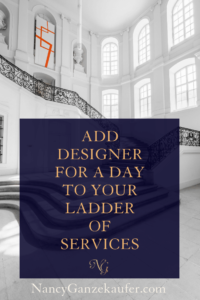 Add the designer for a day contract template to your interior design business ladder of services for increased profits. #designerforaday #contracttemplate #ladderofservices