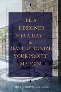 Be a Designer For A Day and revolutionize your profit margin with this contract template.