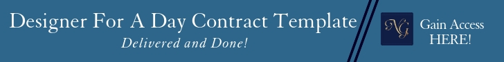 Add Designer for a day contract template delivered and done to implement in your design business. #contracttemplate #ladderofservices #designerforaday