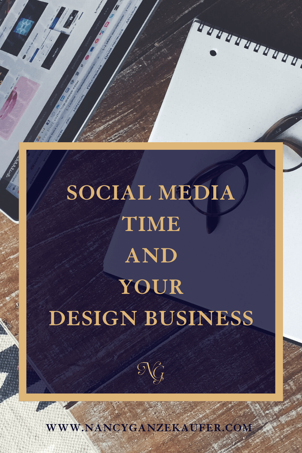 Strategize and maximize your social media time for your interior design business.