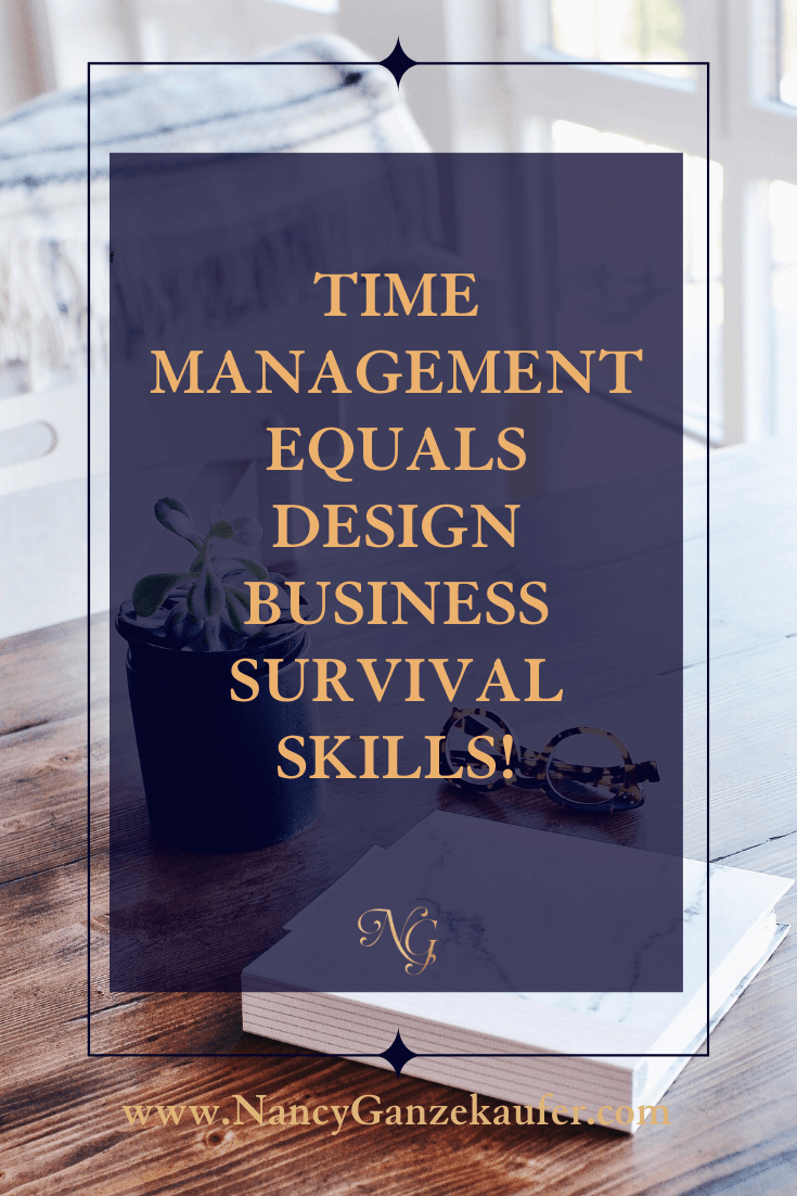 Time management business strategies for designers and tips on managing your time effectively