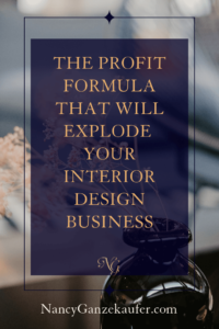 The profit formula that will explode your interior design business is a road map to success. #coursebreakdown #roadmaptosuccess #interiordesignprofitformula