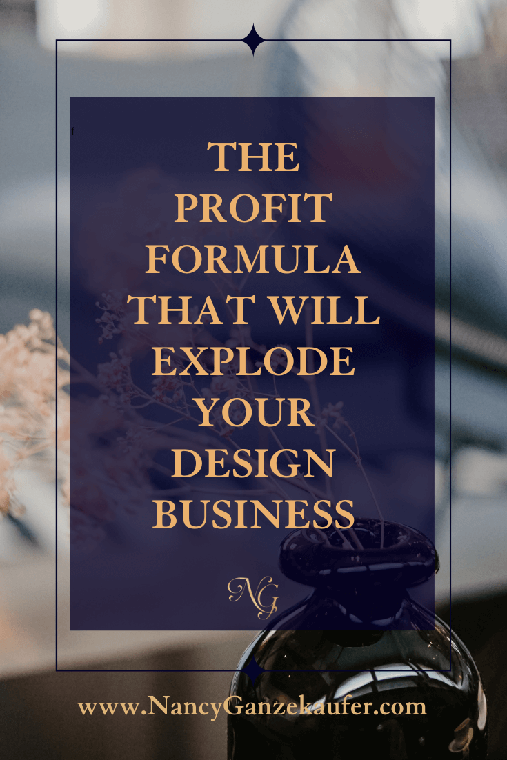 The profit formula training course is a road map to success for your interior design business.