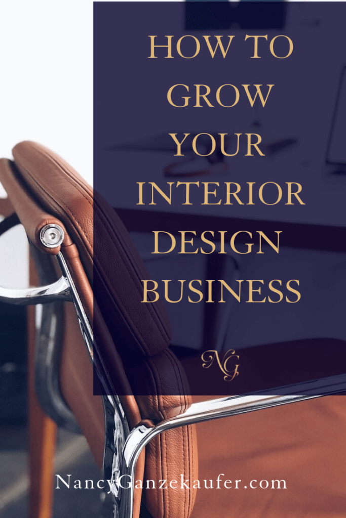How to grow your interior design business with confidence and don't second guess or dwell on your price. #growyourbusiness #setyourprices #businesscoachnancy