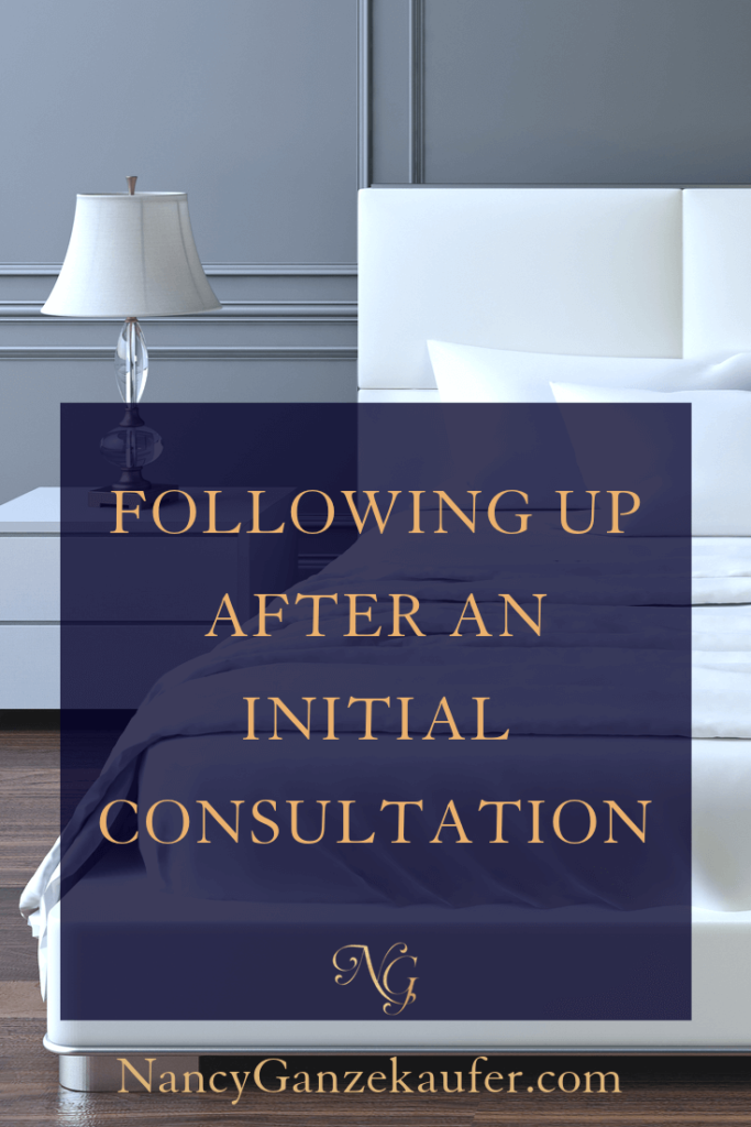 Following up with potential clients after an initial consultation. #potentialclients #followup #initialconsultation