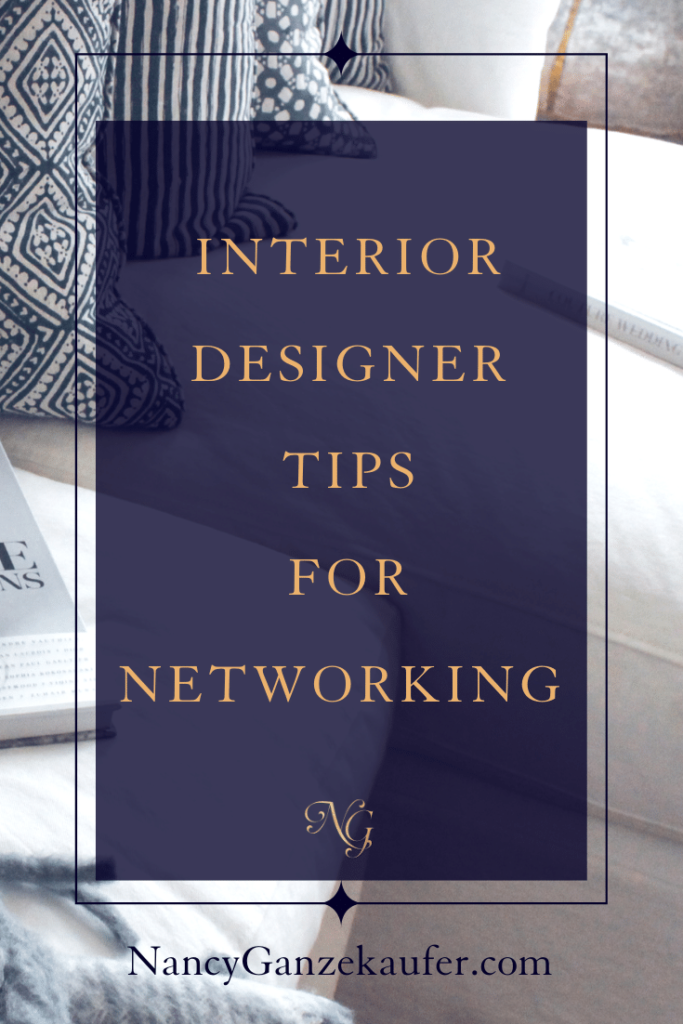 Interior designer tips for networking. #businessexposure #collaborating #designers #businesscoachnancy