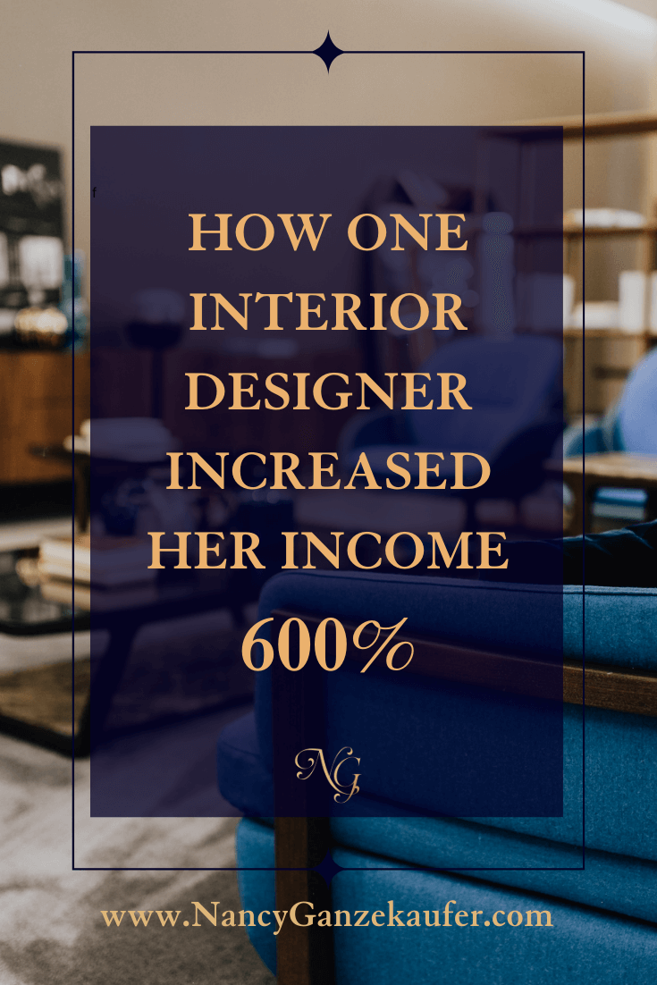 How to make more money as an interior designer by hiring a business coach.