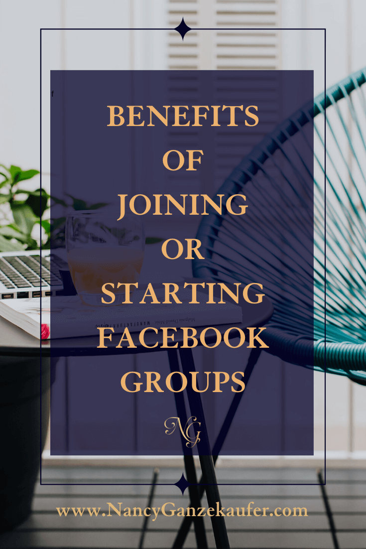 Benefits of interior designers joining or starting facebook groups.