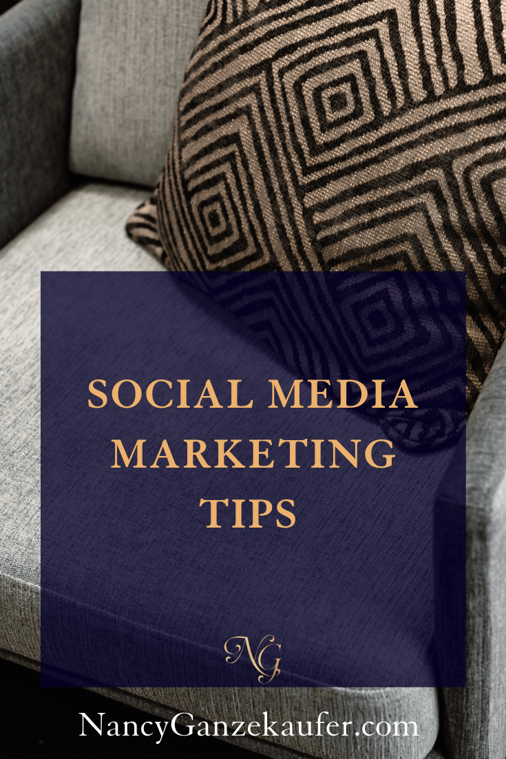 Tips to get you started with social media marketing for your interior design business. #socialmediatips #socialmediamartketing #interiordesigners