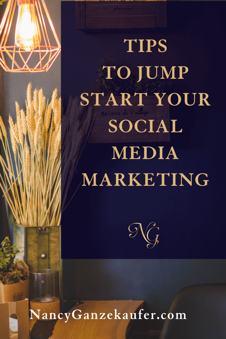 Tips to jump start your social media marketing. #designers #designbusiness #socialmediatips