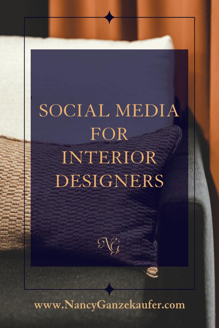Social Media marketing tips for Interior Designers