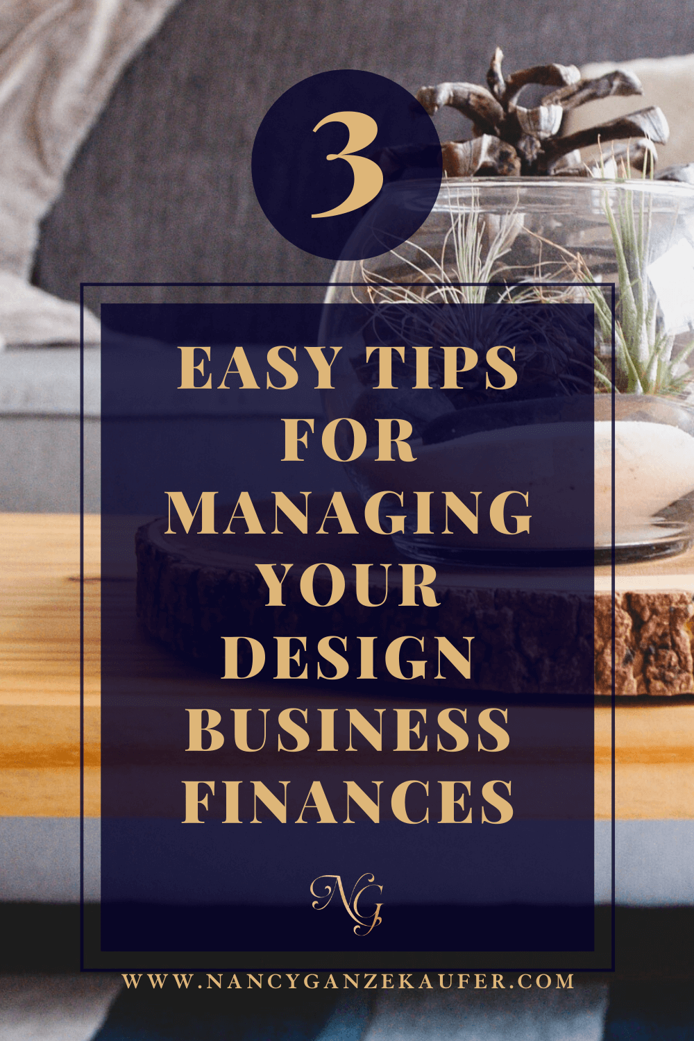 3 Easy tips for managing your design business finances.