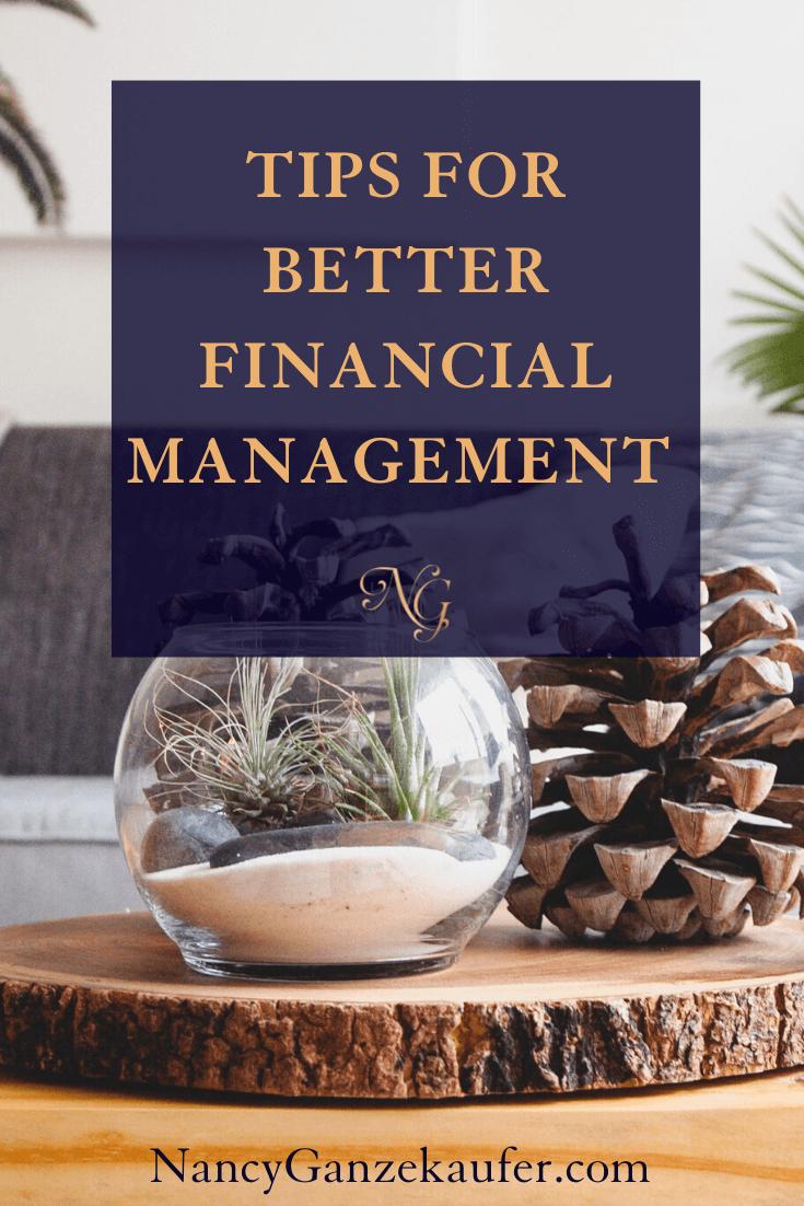 Designer business tips for better financial management.