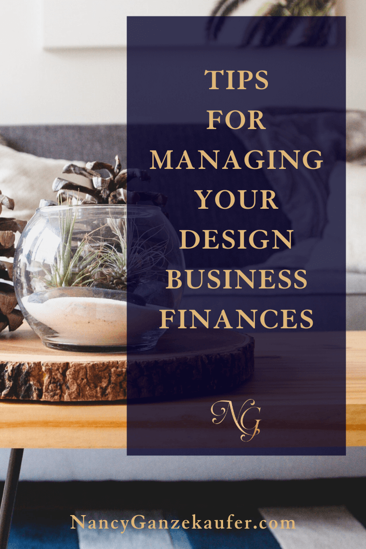 Tips for managing your interior design business finances.