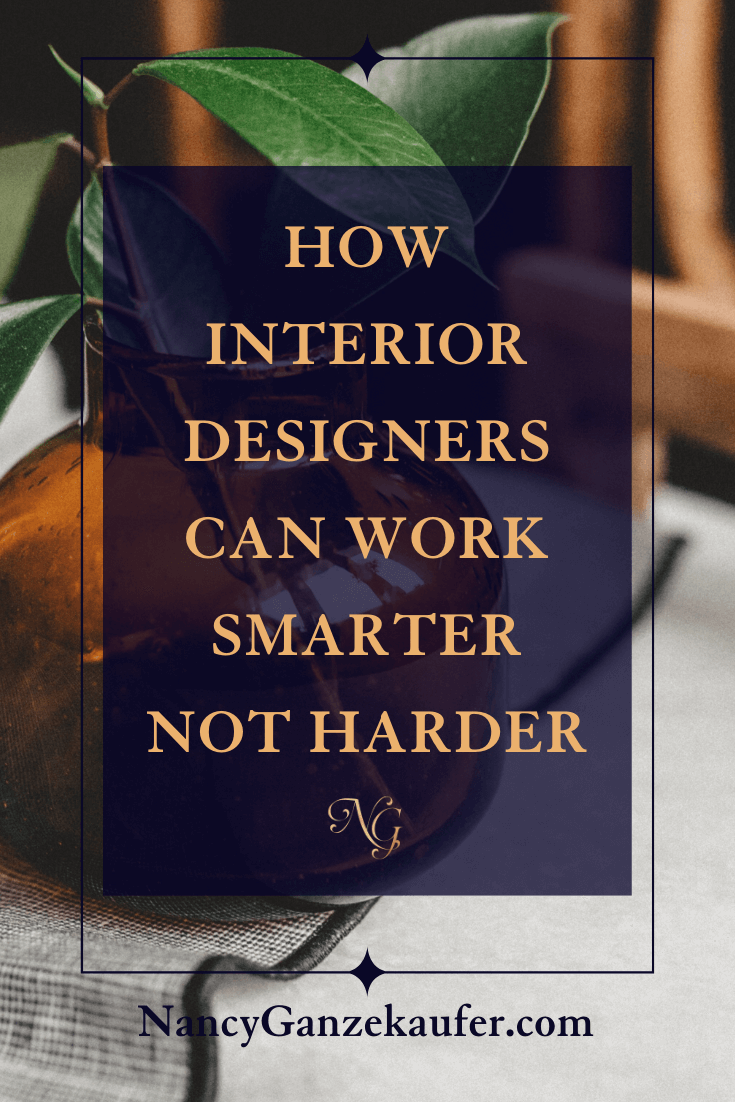 How interior designers can work smarter not harder.