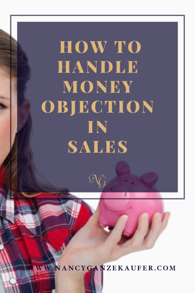 How to handle money objection in sales when selling your services.