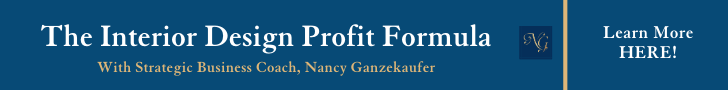Profit Formula training course for Interior Designers with strategic business coach Nancy Ganzekaufer.