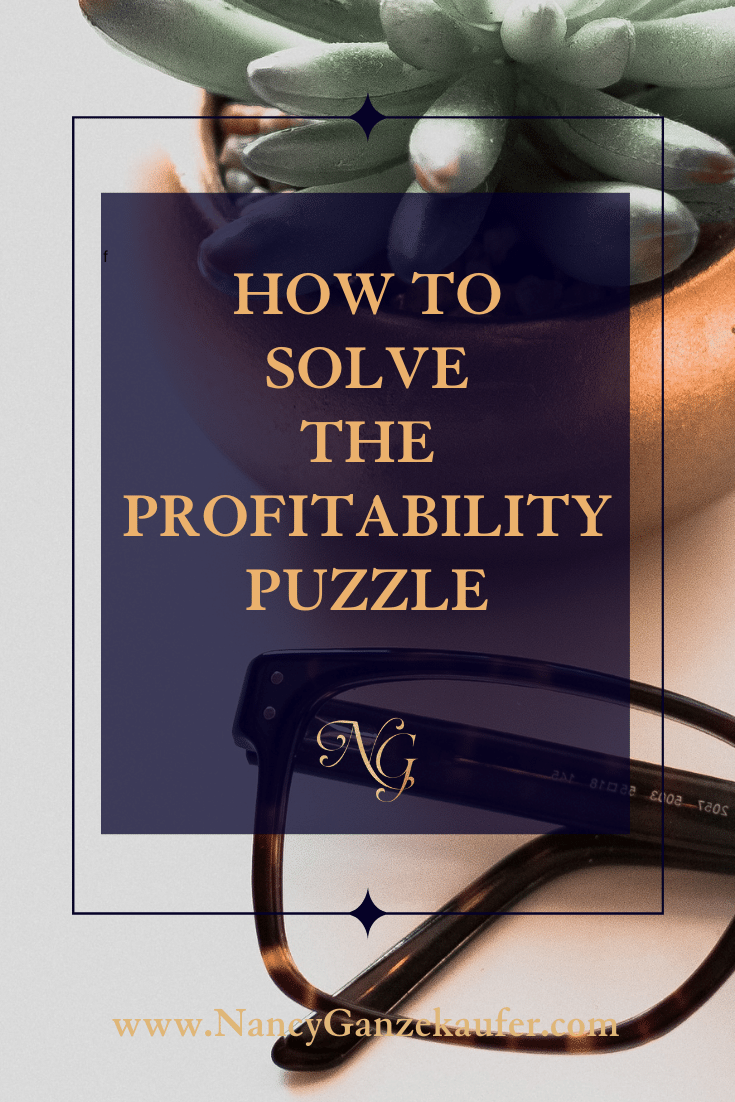 How to solve the profitability puzzle for your business.