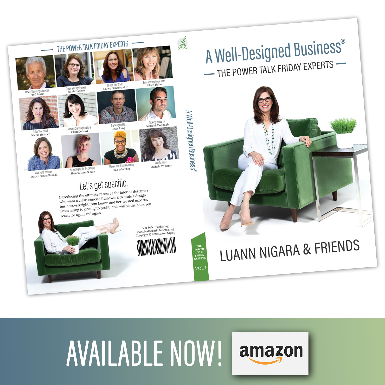 A Well Designed Business with LuAnn Nigara and friends including Nancy Ganzekaufer