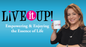 Live It Up with Donna Drake, Nancy Ganzekaufer shares on how she built a business while raising her children