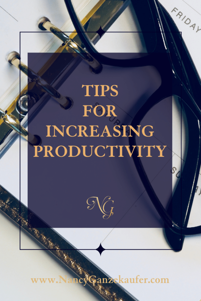 Tips for increasing productivity in your business.