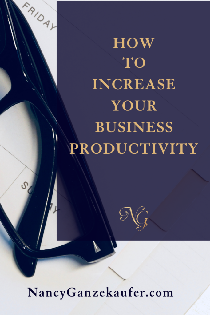 Tips on how to increase your business productivity.