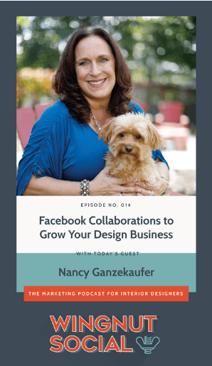 Wingnut Social podcast with guest Nancy Ganzekaufer